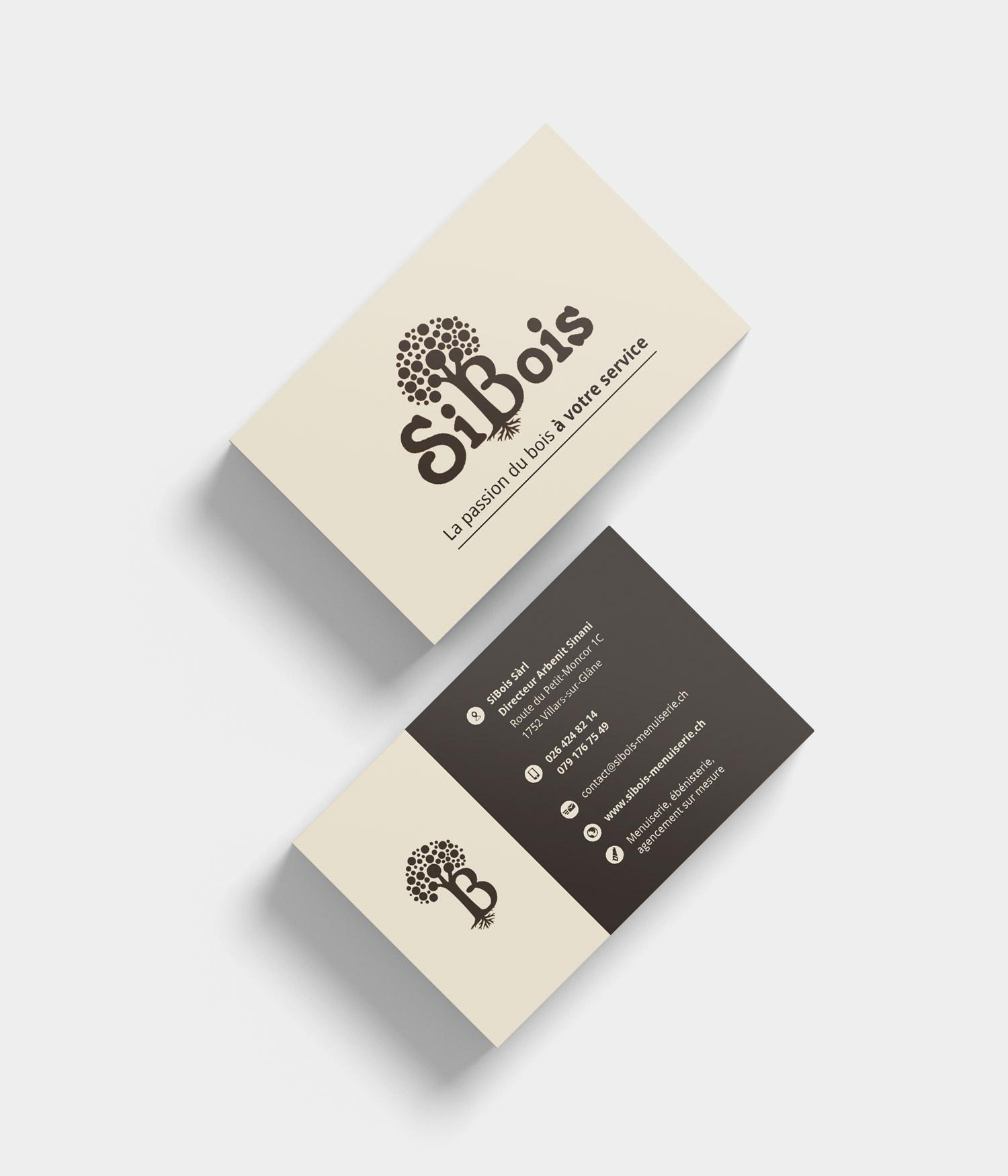 SiBois Cartes De Visite